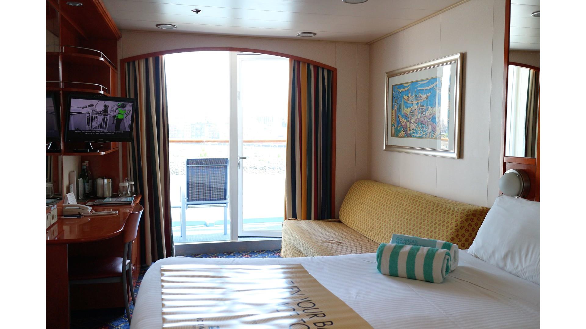 Norwegian Cruise Norwegian Sun Balcony Stateroom Elsie Hui