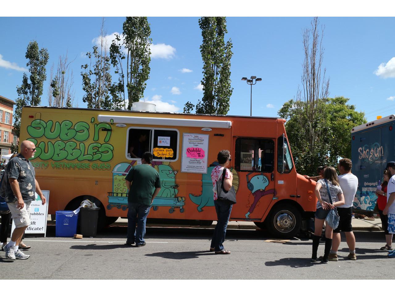 Subs N Bubbles Food Truck Calgary AB Elsie Hui