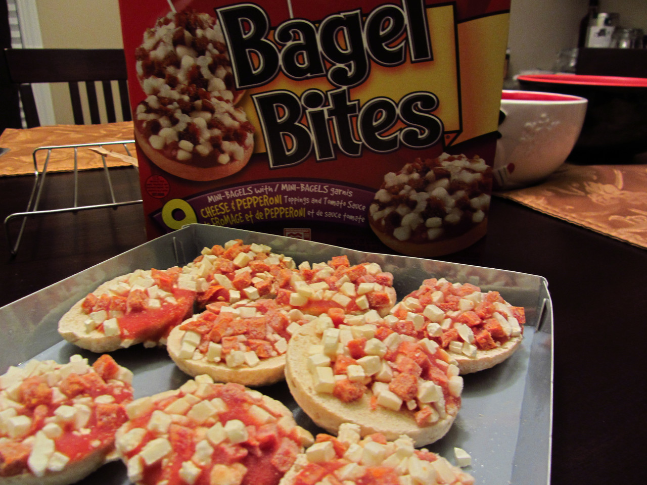 Heinz Bagel Bites Cheese And Pepperoni